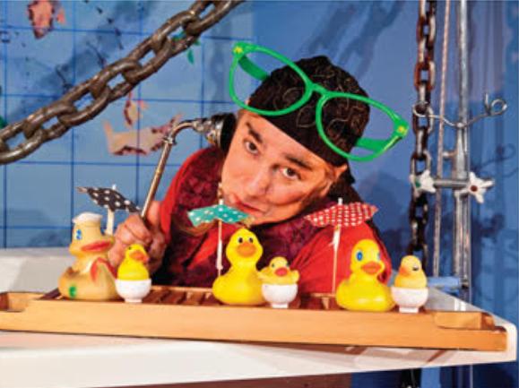תיאטרונצ'יק - פיראט באמבט